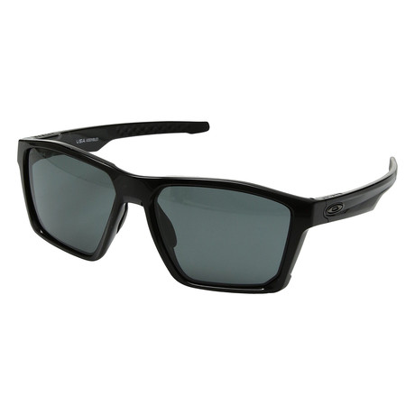 Men's Targetline Sunglasses // Black + Dark Gray