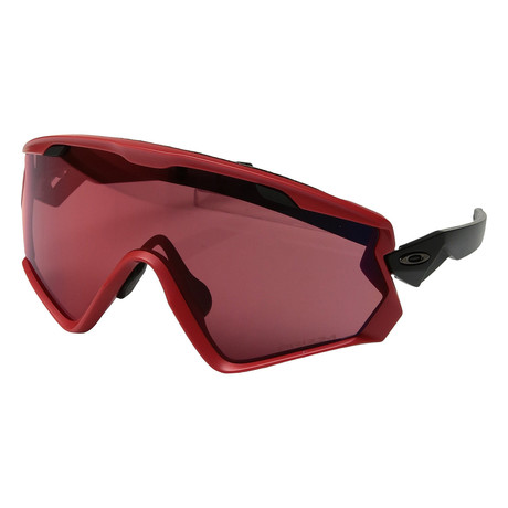Men's Wind Jacket Sunglasses // Red