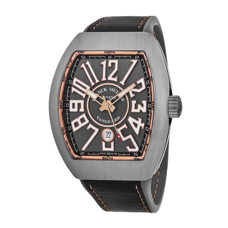 Franck Muller Vanguard Automatic // 45SCBLKBLKGRY