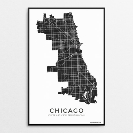 Chicago (Charcoal)