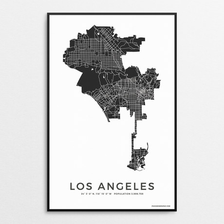 Los Angeles (Charcoal)