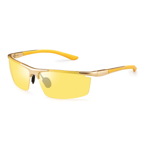 Night Vision Glasses // 3319 // Yellow