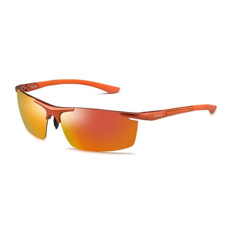 Sunglasses // 3618-4 // Orange