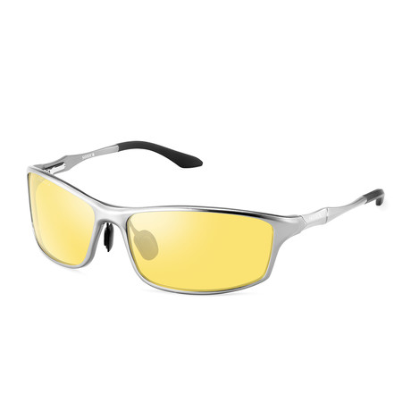 Night Vision Glasses // 6128-2 // Silver