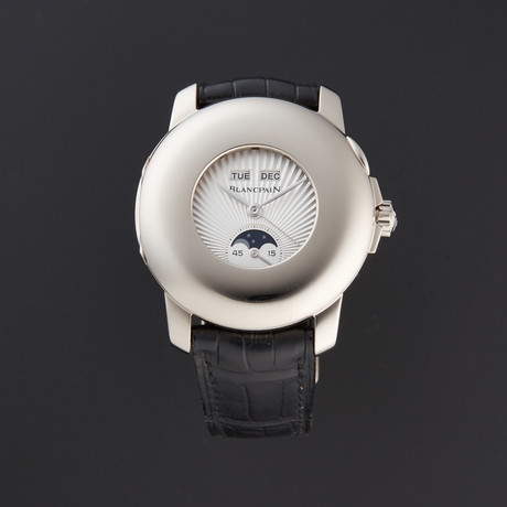 Blancpain Half Hunter Day-Date Automatic // 4563-1542-55B // Pre-Owned