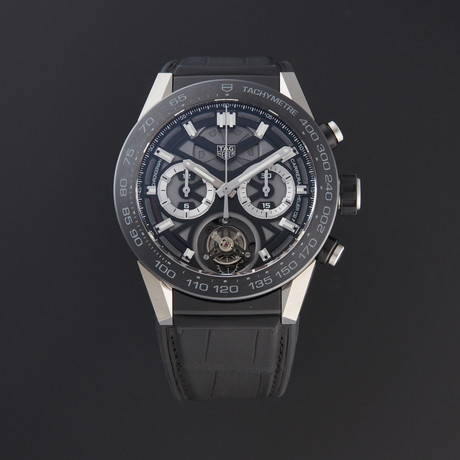 Tag Heuer Carrera Calibre Tourbillon Automatic // CAR5A8Y // Pre-Owned