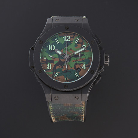 Hublot Big Bang Jungle Chronograph Automatic // 301.CI.8610.NR // Pre-Owned