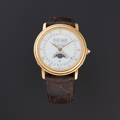 Blancpain Day-Date Moonphase Calendar Automatic // // Pre-Owned