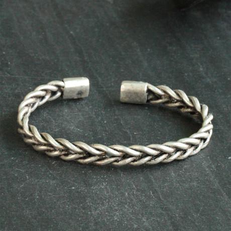 Zamac Bracelet // Antique Silver