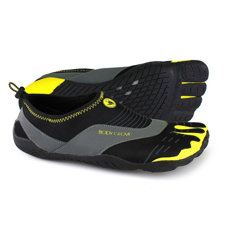 3T Barefoot Cinch // Black + Yellow (US: 7)
