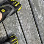 3T Barefoot Cinch // Black + Yellow (US: 12)