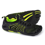 3T Barefoot Hero // Black + Neon Yellow (US: 9)
