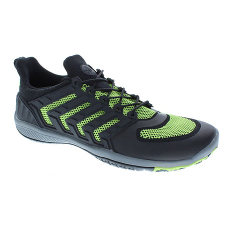 Dynamo Ribcage // Black + Neon Yellow (US: 7)
