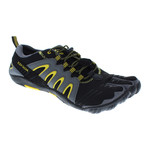 3T Barefoot Warrior // Black + Yellow (US: 12)
