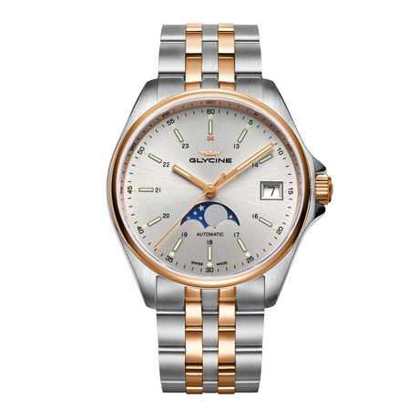 Glycine Combat Classic Moonphase Automatic // GL0194