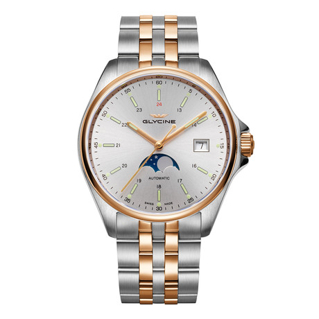 Glycine Combat Classic Moonphase Automatic // GL0192