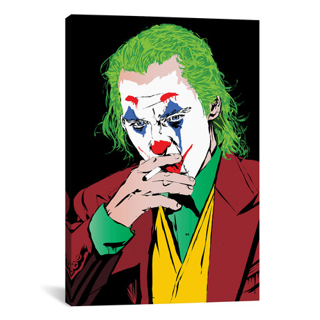 "Joker Phoenix // TECHNODROME1 (12""W x 18""H x 0.75""D)"