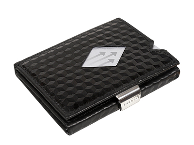 Photo of Exentri Minimalist RFID-Blocking Wallets Leather Wallet // Black Cube by Touch Of Modern