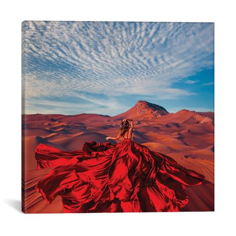 """Bud Of The Desert // Hobopeeba (18""""W x 18""""H x 0.75""""D)"""
