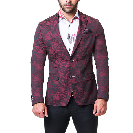 Beethoven Rich Blazer // Red (US: 38R)