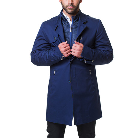 Button Peacoat // Navy (US: 38R)