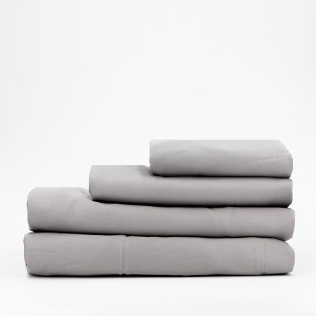 Percale Complete Bedding Set // Earl Gray (Full)
