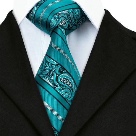 Richard Handmade Tie // Teal