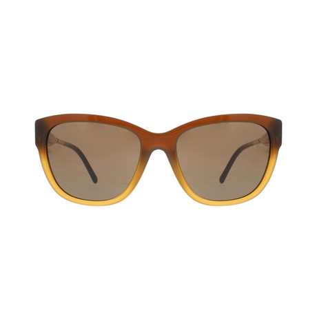 Burberry // Acetate Women's Sunglasses // Brown + Brown