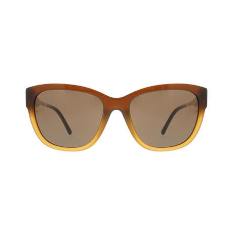 Burberry // Acetate Sunglasses // Brown + Brown