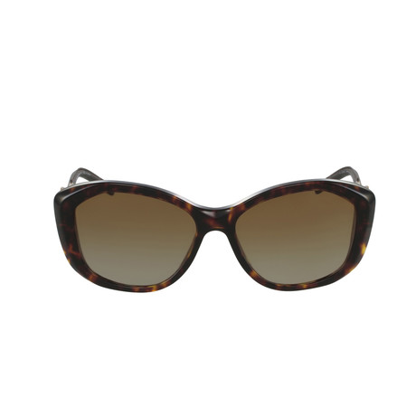 Burberry // Acetate Women's Sunglasses // Havana + Brown Gradient