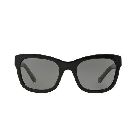 Burberry // Acetate Unisex Sunglasses // Black + Gray