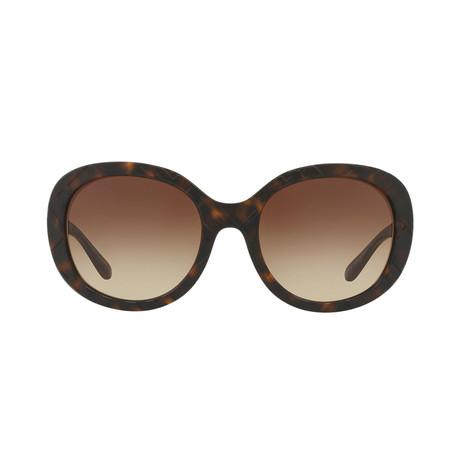 Burberry // Acetate Women's Sunglasses // Havana Brown + Brown Gradient