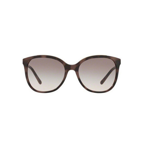 Burberry // Injected Women's Sunglasses // Spotted Brown + Pink Gradient Grey