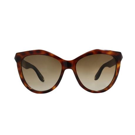 Givenchy // Acetate Cateye Sunglasses // Havana Black + Brown