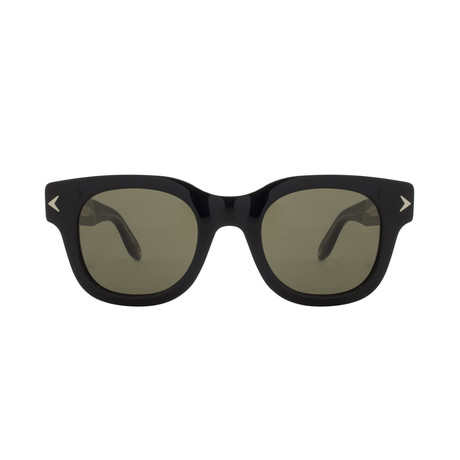 Givenchy // Acetate Sunglasses // Black Crystal