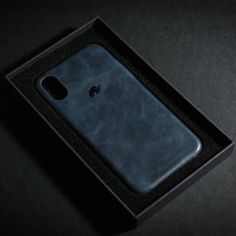 Leather iPhone Case // Ocean (X/XS)