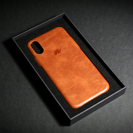 Leather iPhone Case // Sienna (X/XS)