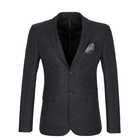 Reuben Blazer Jacket // Black + Gray (S)