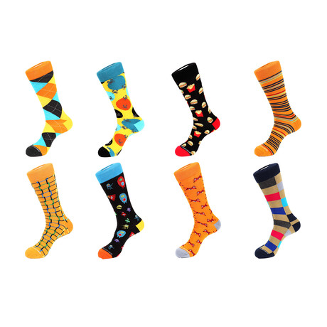 Crew Sock Combo Set // Gabriel // 8 Pack