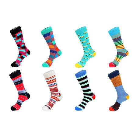 Crew Sock Combo Set // Nash // 8 Pack
