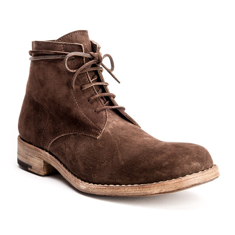 Julius Goodyear Boot // Reverse Bitter Chocolate (US: 7)