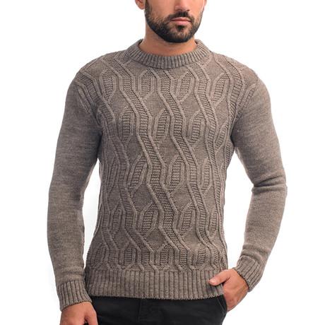 Wool Sweater + Design // Cappuccino (S)