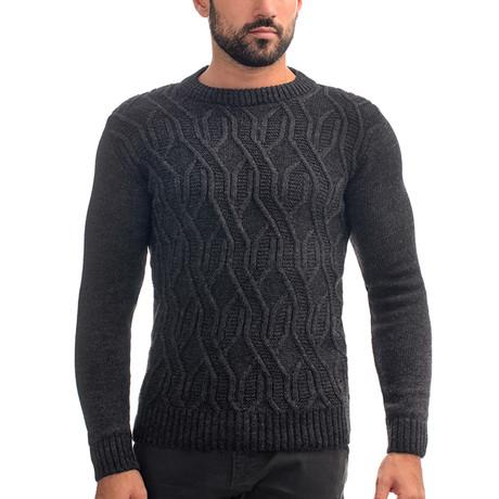 Wool Sweater + Design // Dark Gray (S)