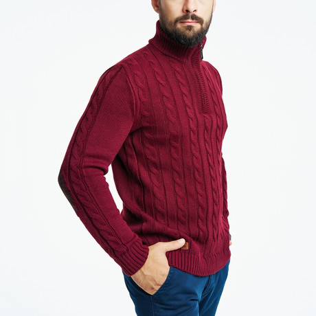 Gardener Sweater // Bordeaux (S)
