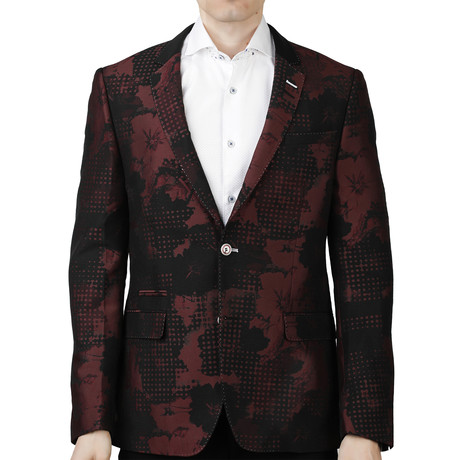 Socrate Confused Blazer // Red (US: 38R)