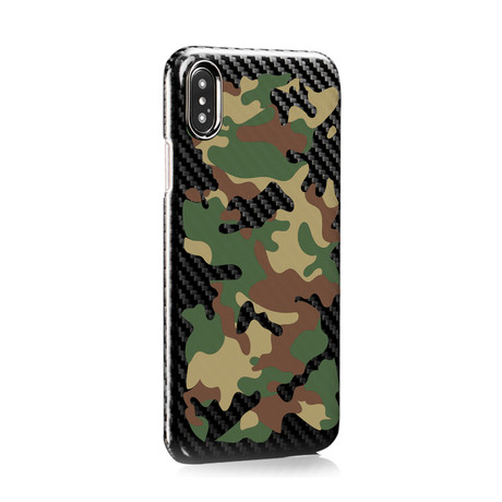 HOVERKOAT Camo Edition // Army (iPhone XS)