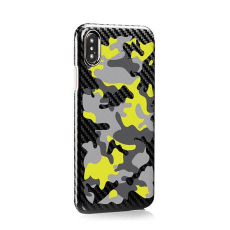 HOVERKOAT Camo Edition // Combat (iPhone XS)