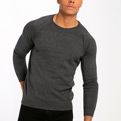 Pull Over Sweater // Anthracite (L)