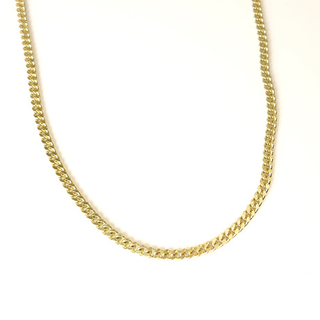 Brass Gold Cuban Chain