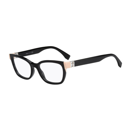 Fendi // Women's FF-0130 Optical Frames // Black